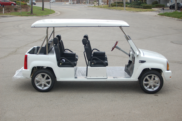 cart golf escalade model seater electric cardetails cadillac